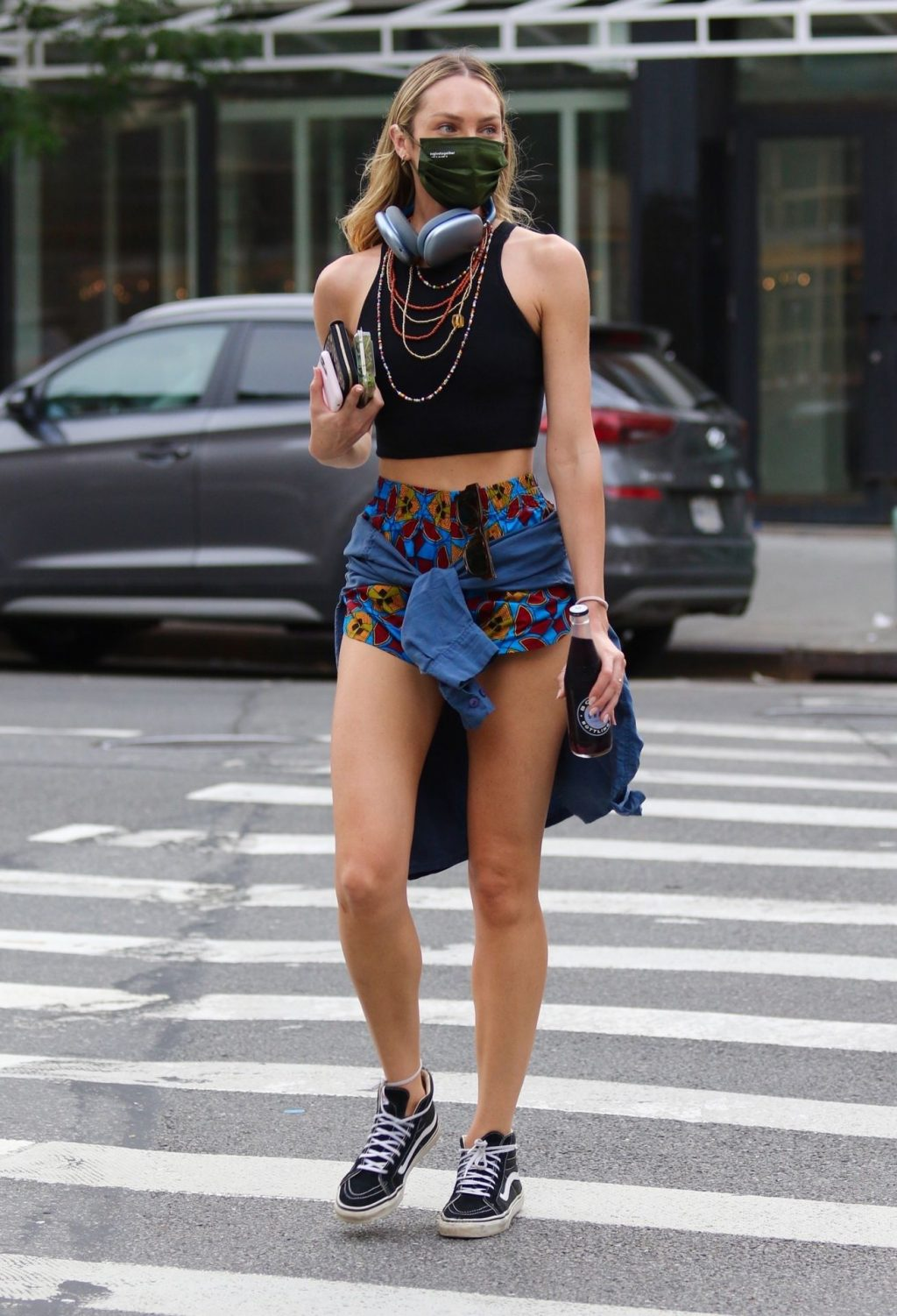 Candice Swanepoel Braves the Heatwave in Short Shorts While Giving Us a Peek at Her Midriff (19 Photos)