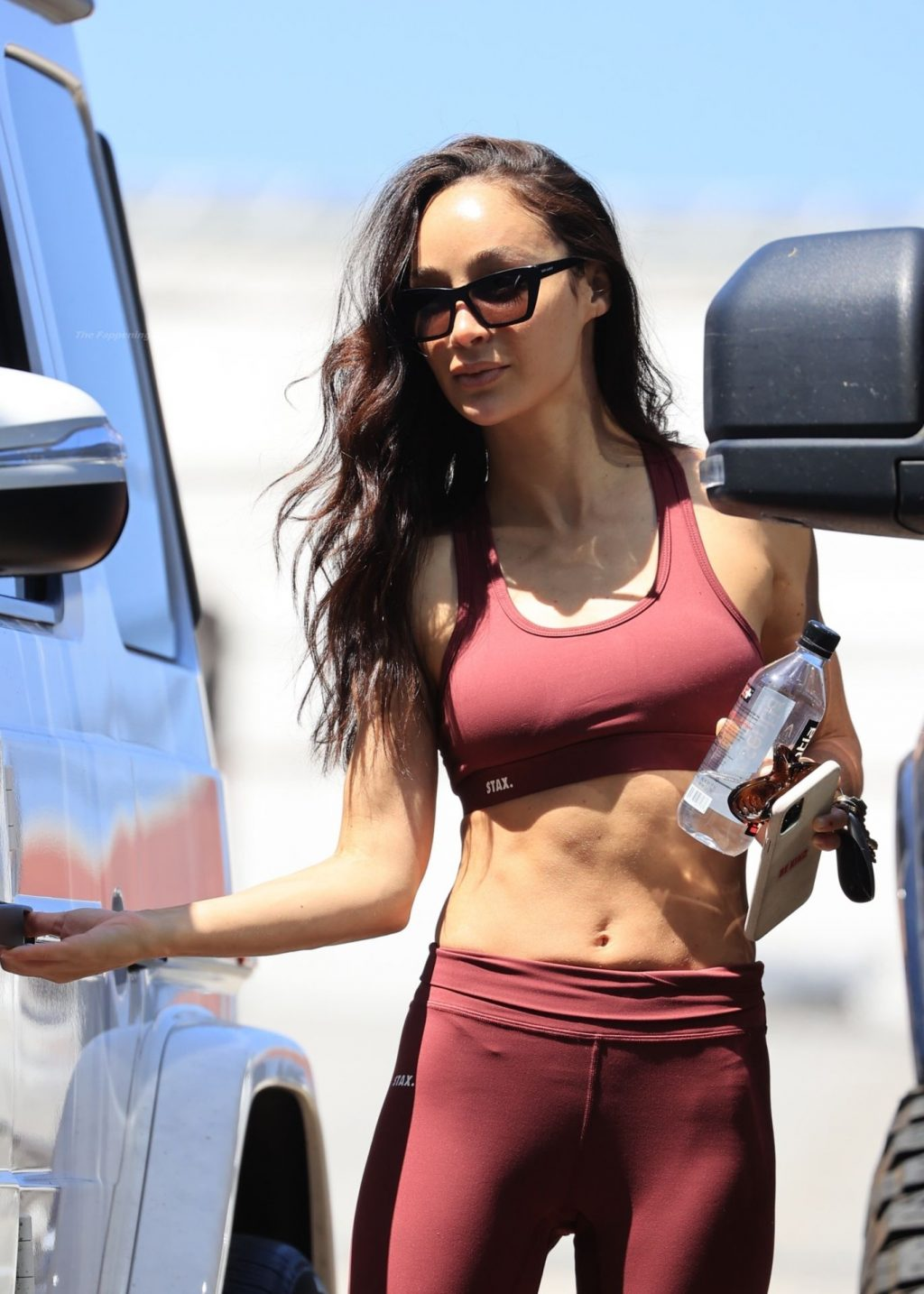 Cara Santana Shows Off Her Red Hot Abs After Gym Session in LA (16 Photos)