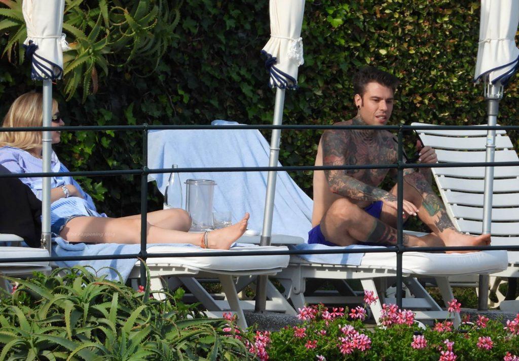 Chiara Ferragni & Fedez Share PDA by the Pool in Portofino (26 Photos)