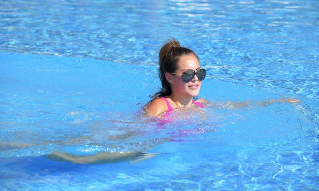 Chloe Goodman Shows Off Her Recent Weight Loss While on Holiday in Gibraltar (21 Photos)