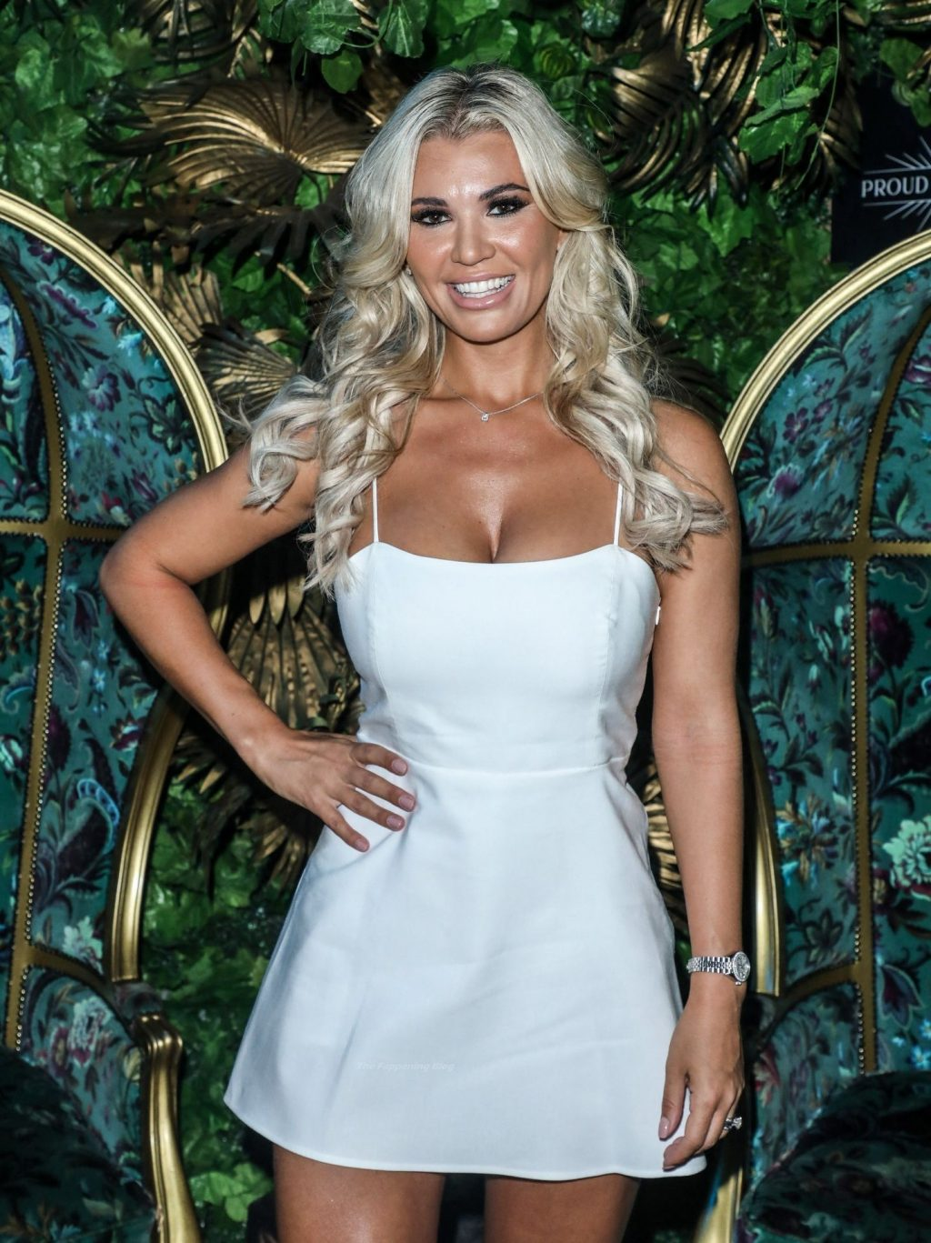 Christine McGuinness Shows Off Her Stunning Legs at Proud Cabaret (95 Photos + Video)