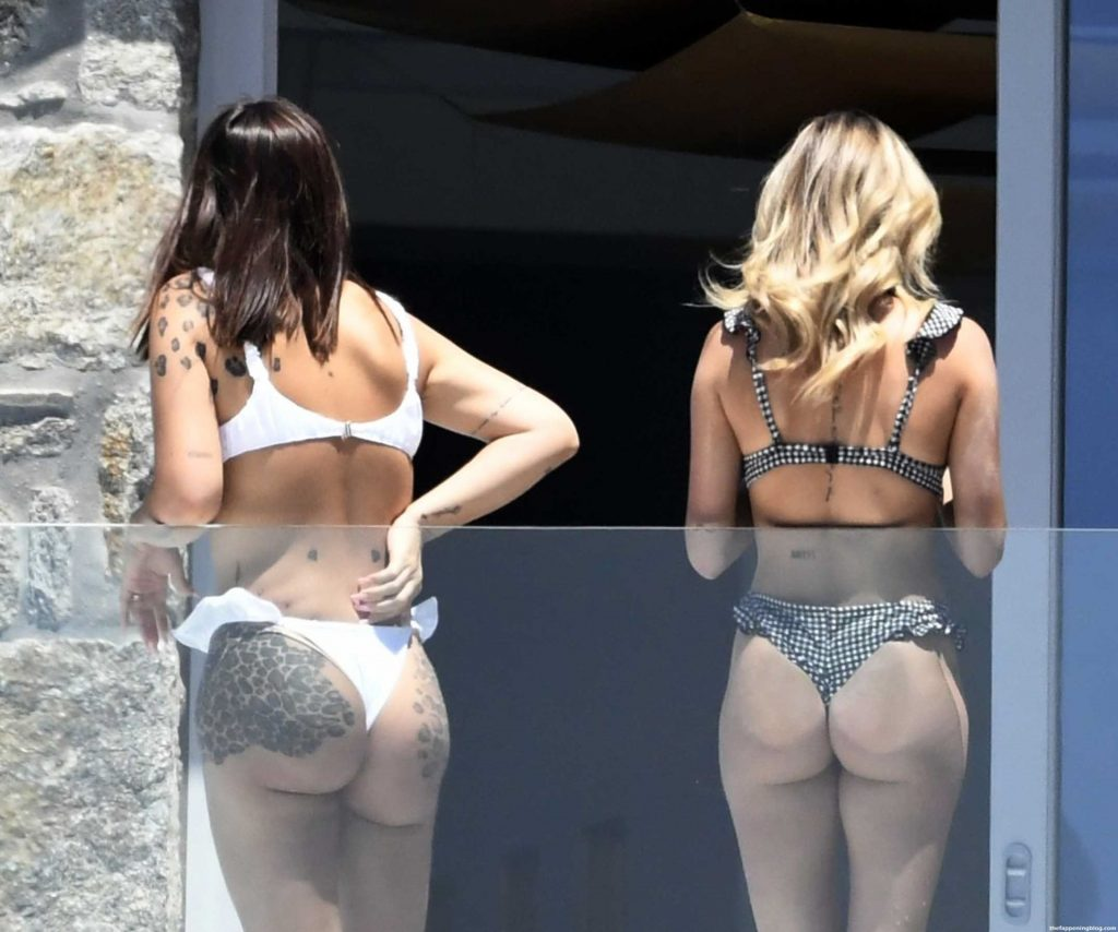 Elettra Lamborghini & Ludovica Pagani Enjoy Their Vacation in Greece (34 Photos)