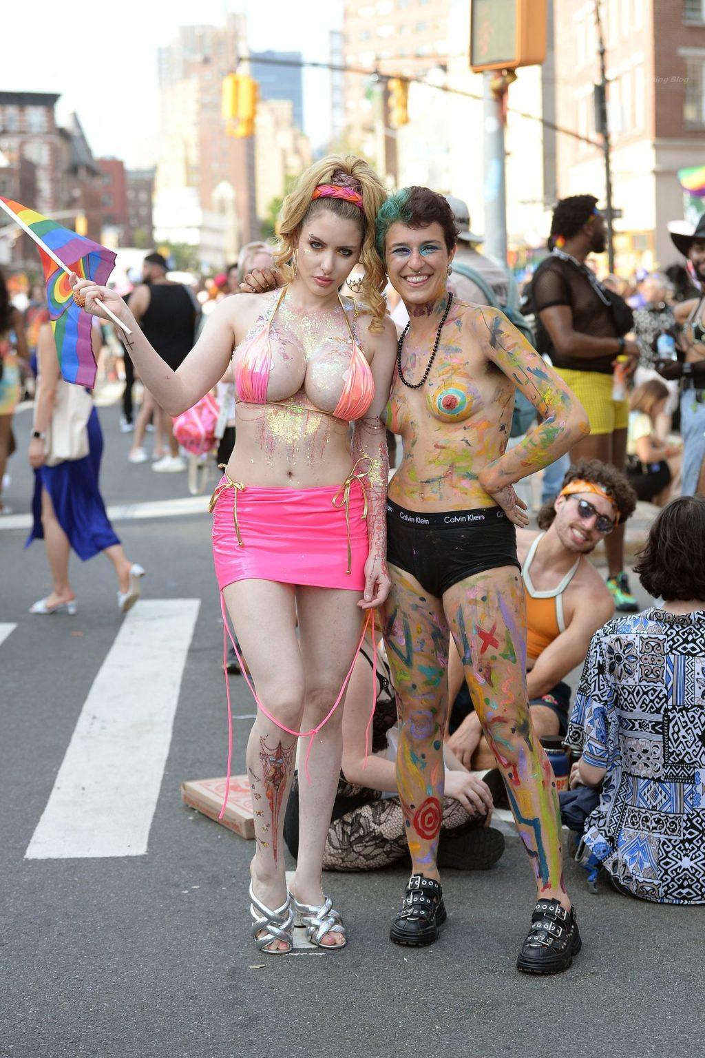 Gabi Grecko Celebrates Pride Parade In NYC (63 Photos)
