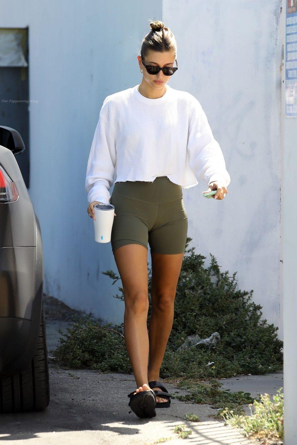 Hailey Bieber Heads to Pilates (50 Photos)