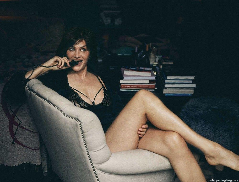 Helena Christensen Dons Sexy Lingerie For a New Coco de Mer Collection (8 Photos)