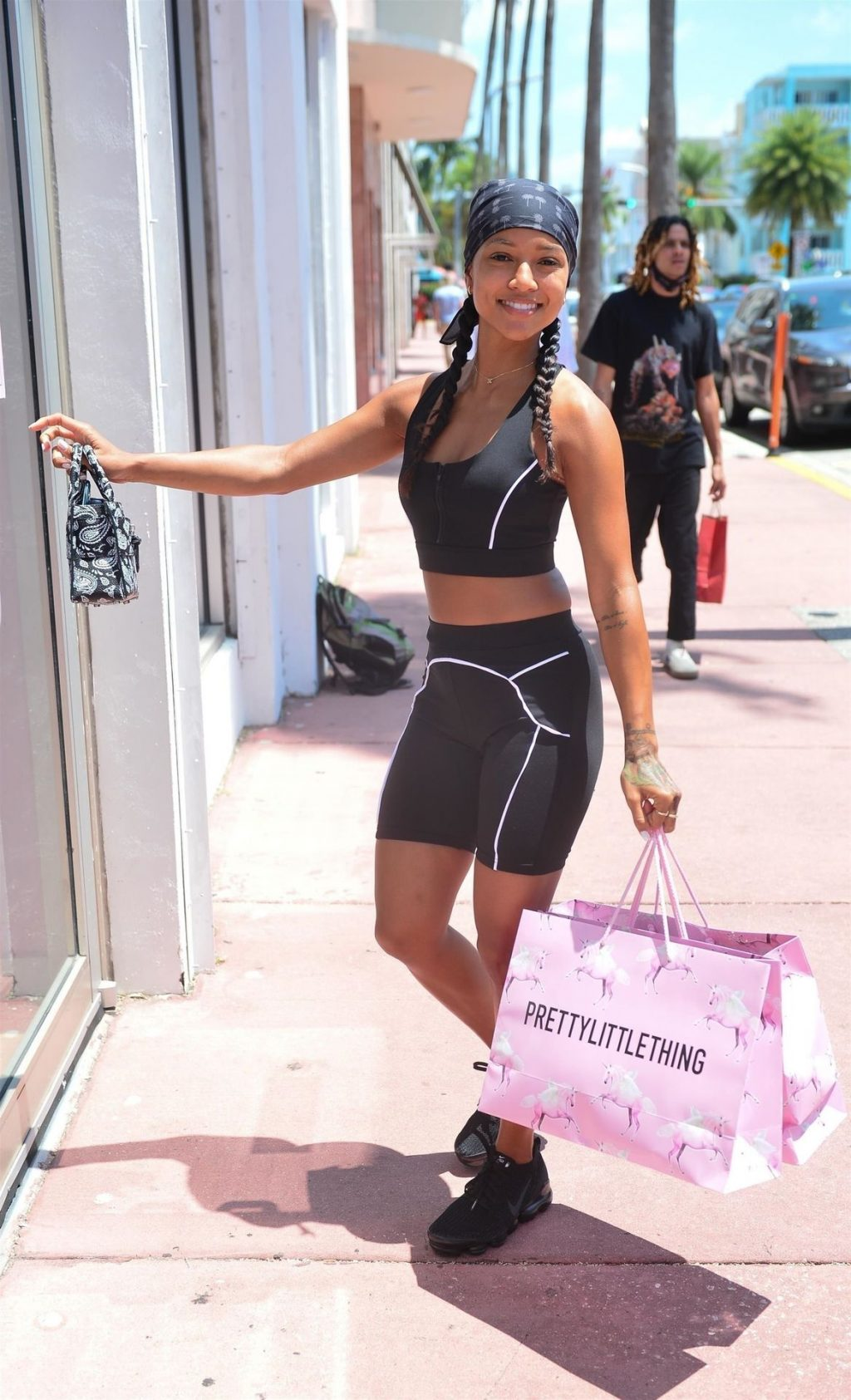 Karruche Tran & Larsa Pippen Attend the Showroom For Pretty Little Thing Fashion Event in Miami Beach (78 Photos)