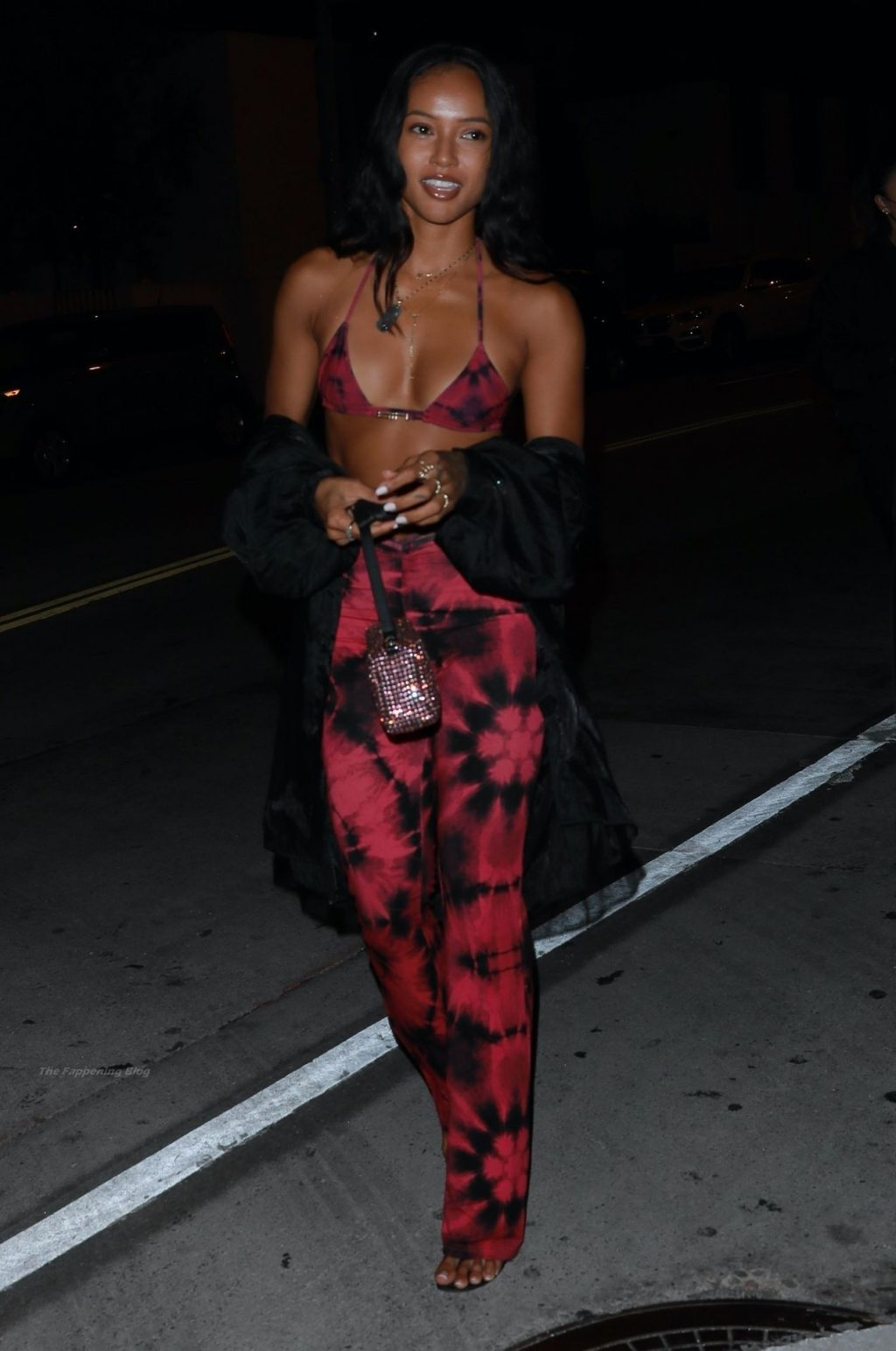 Karrueche Tran is Turning Heads in Her Sexy Outfit as She Heads Out For Dinner (24 Photos)