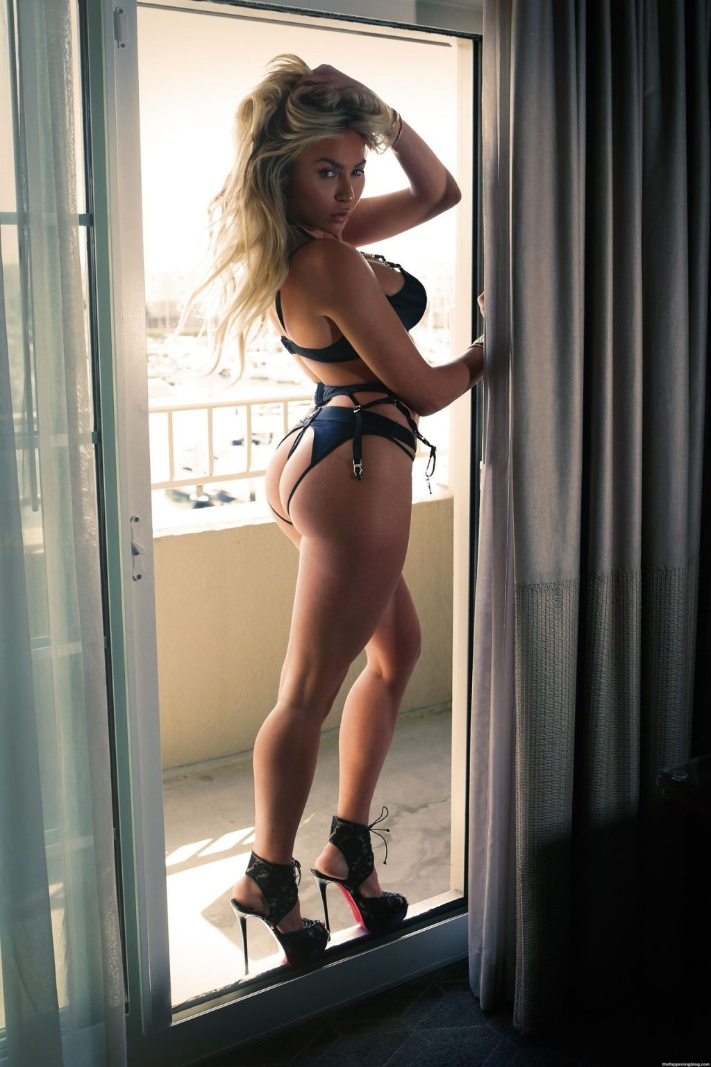 Khloe Terae is a Sultry Babe in Honey Birdette Lingerie (44 Photos)
