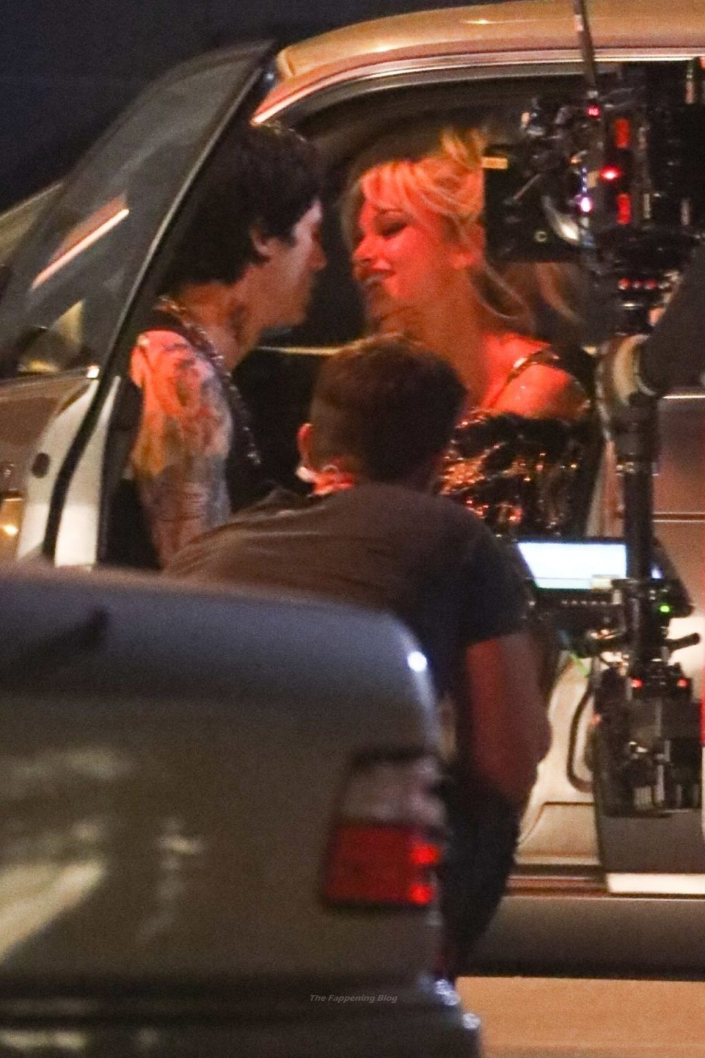 Lily James & Sebastian Stan Film a Scene For the New Drama Series 'Tom and Pammy' (68 Photos)