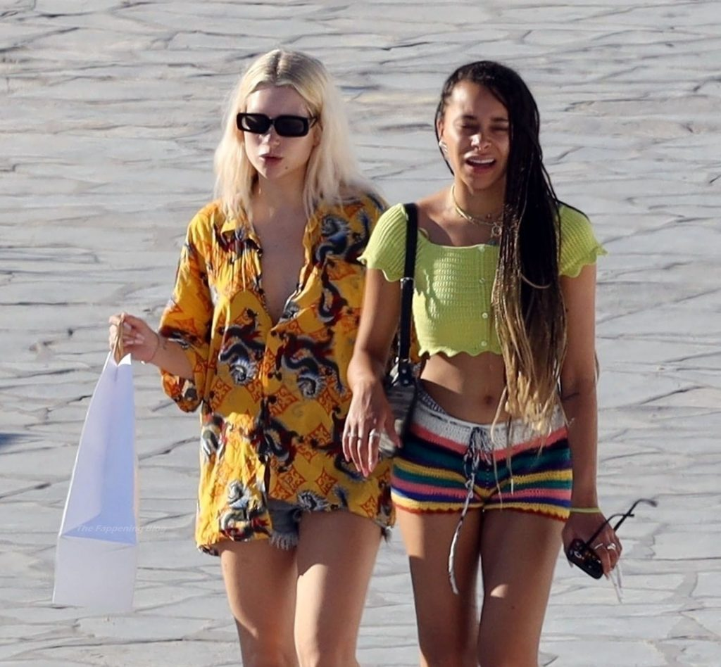 Lottie Moss is Pictured Out Sightseeing With a Friend While Enjoying Their Holiday in Mykonos (54 Photos)