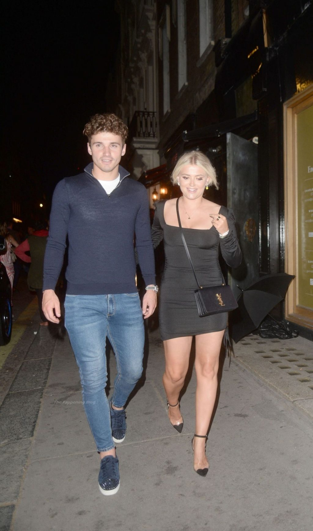 Leggy Lucy Fallon is Seen Leaving MNKY HSE in London (63 Photos)