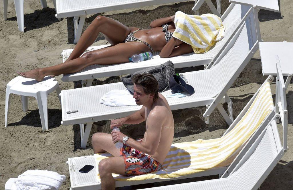 Leggy Madalina Ghenea Is Seen at the Beach in Portofino (51 Photos)