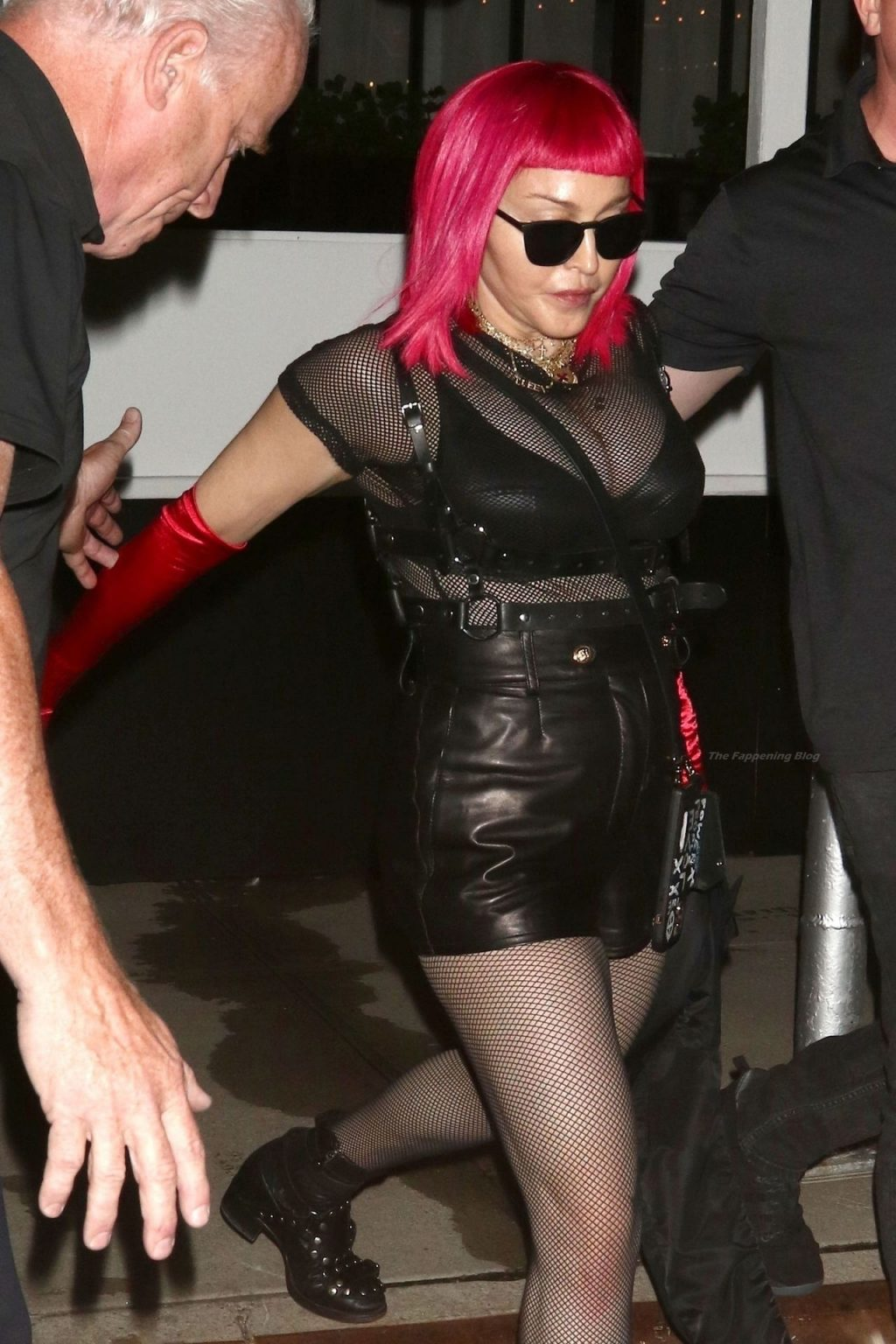 Madonna & Ahlamalik Williams Attends Madonna's New Video Release Party in NYC (36 Photos)