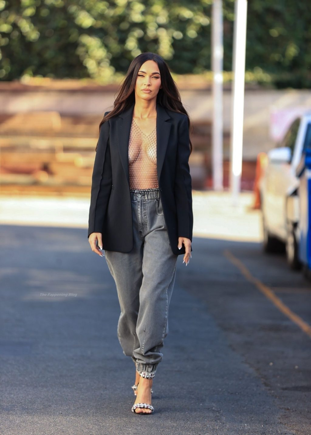 Megan Fox Leaves Little to Imagination While Leaving a Photoshoot in LA (27 Photos)