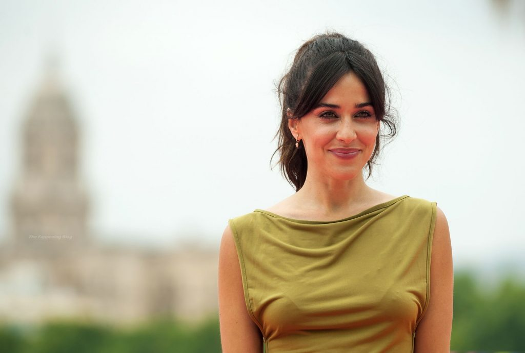 Natalia Garcia Shows Her Pokies at the 24th Malaga Spanish Film Festival (4 Photos)