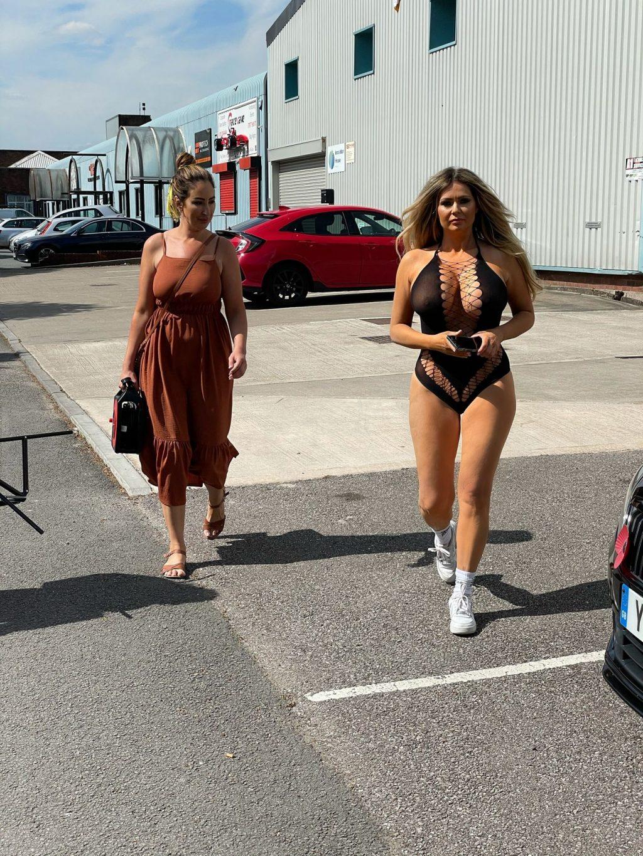 Nicola McLean Flashes Her Big Boobs in London (14 Photos)