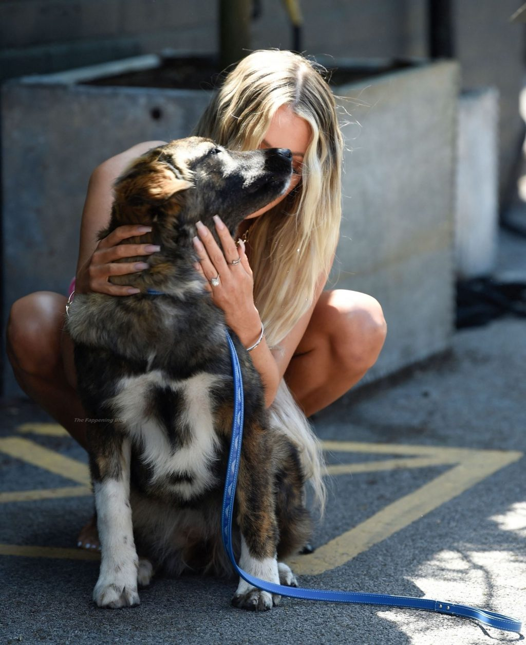 Olivia Attwood Poses with Her Dog at a Photoshoot in Manchester (53 Photos)