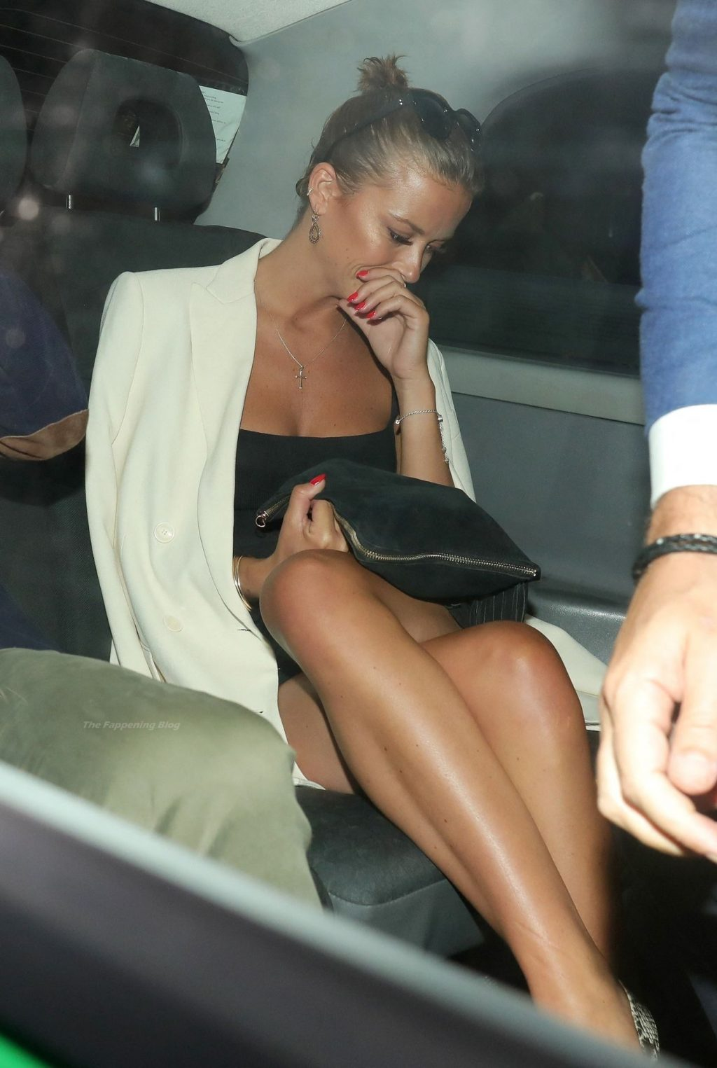 Leggy Olivia Bentley is Pictured Leaving Lou Lou's (11 Photos)