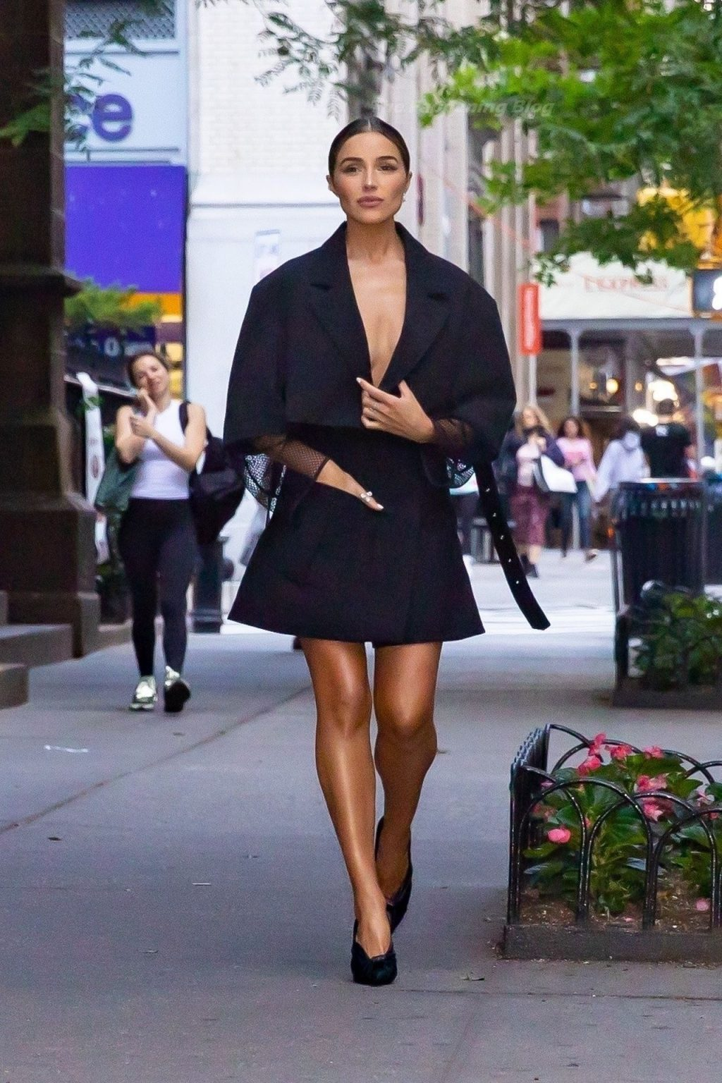Olivia Culpo is Chic in All Black Louis Vuitton (45 Photos)