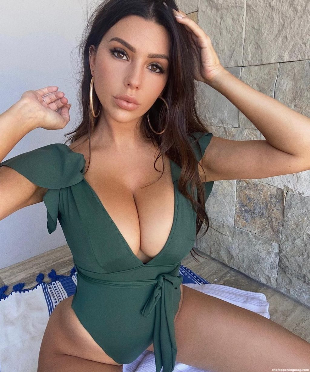 Paige Woolen Claims She Has Been 'Banned' From TikTok For 'Having BIG BOOBS' (53 Photos)
