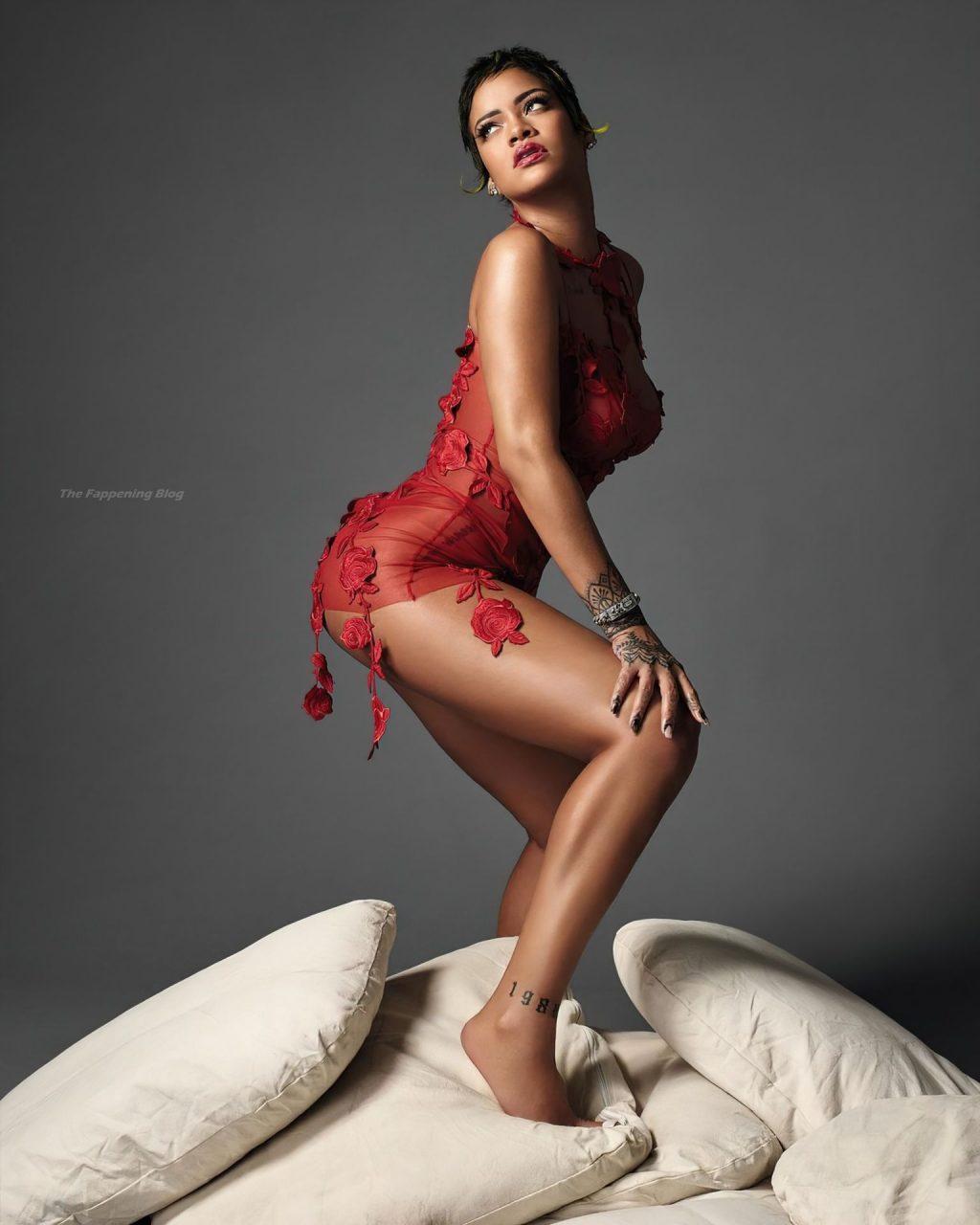 Rihanna Sexy – Vogue Italia (9 Photos)