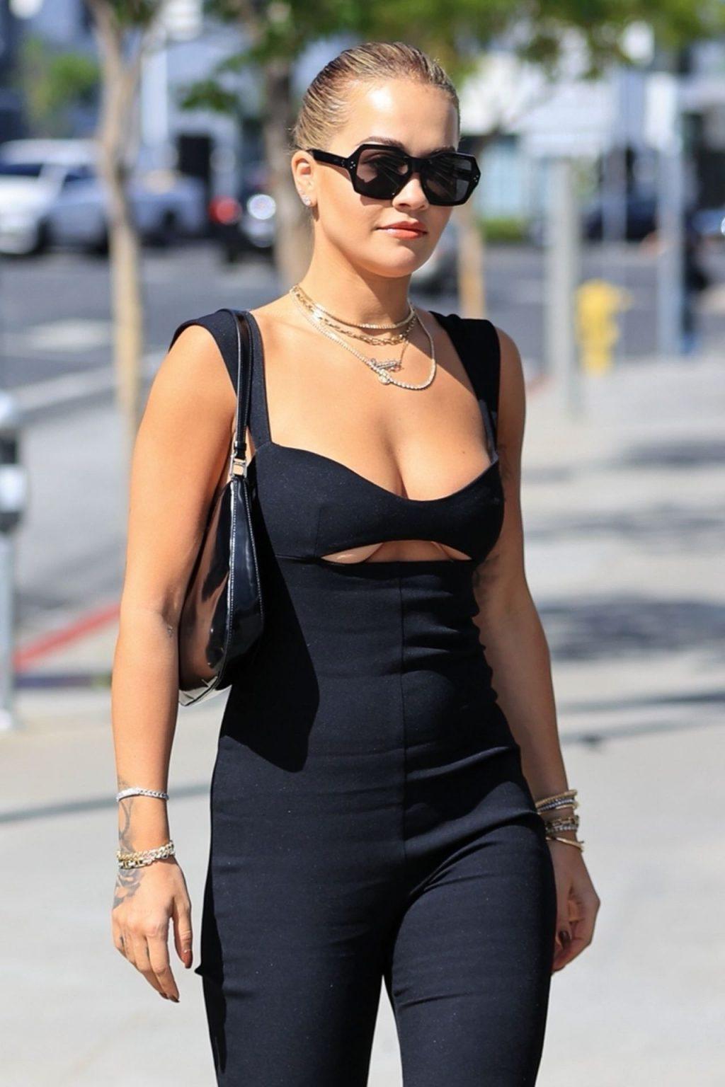 Rita Ora Mesmerizes Once Again Heading to a Business Meeting (54 Photos)