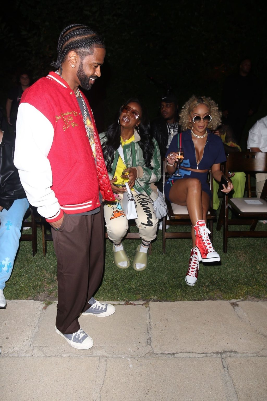Pantyless Saweetie Attends the RHUDE Runway Show (45 Photos)