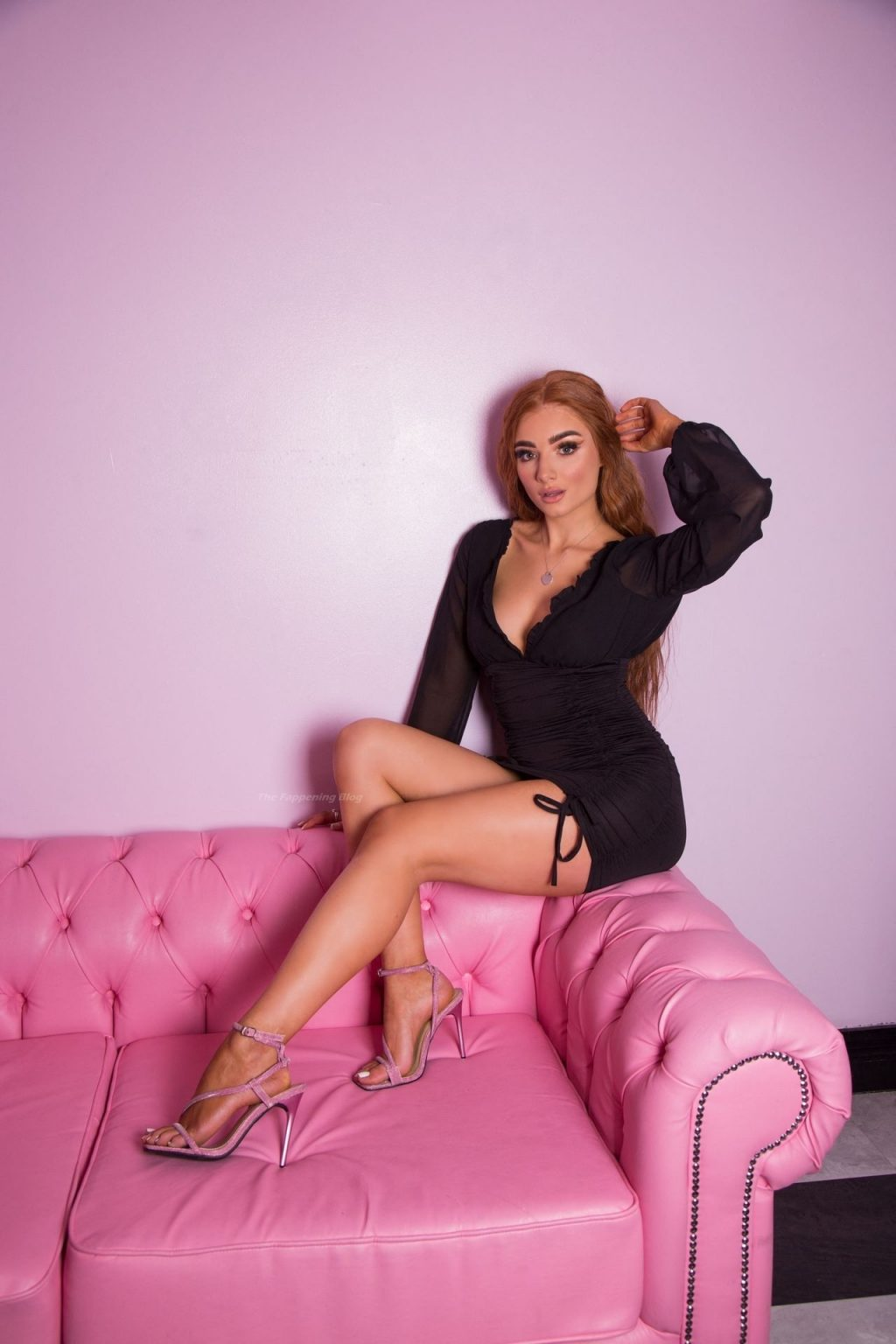 Leggy Summer Harte-Felce Poses in a New Photoshoot in Essex (11 Photos)