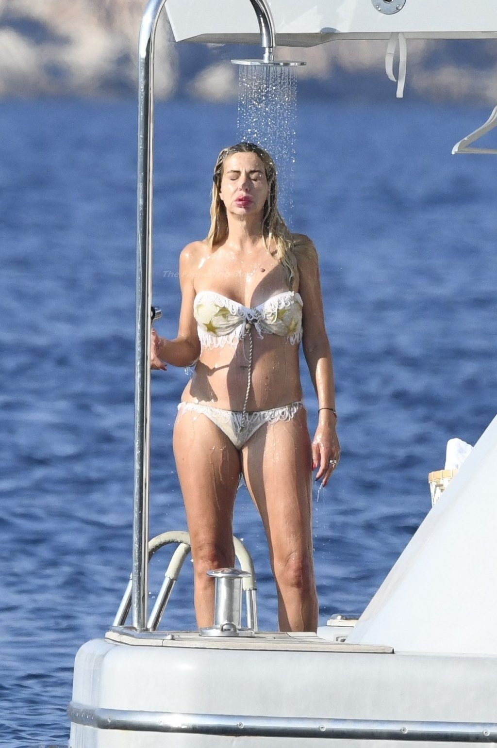Valeria Marini Shows Off Her Nude Boobs and Butt on Holiday in Sardinia (84 Photos)