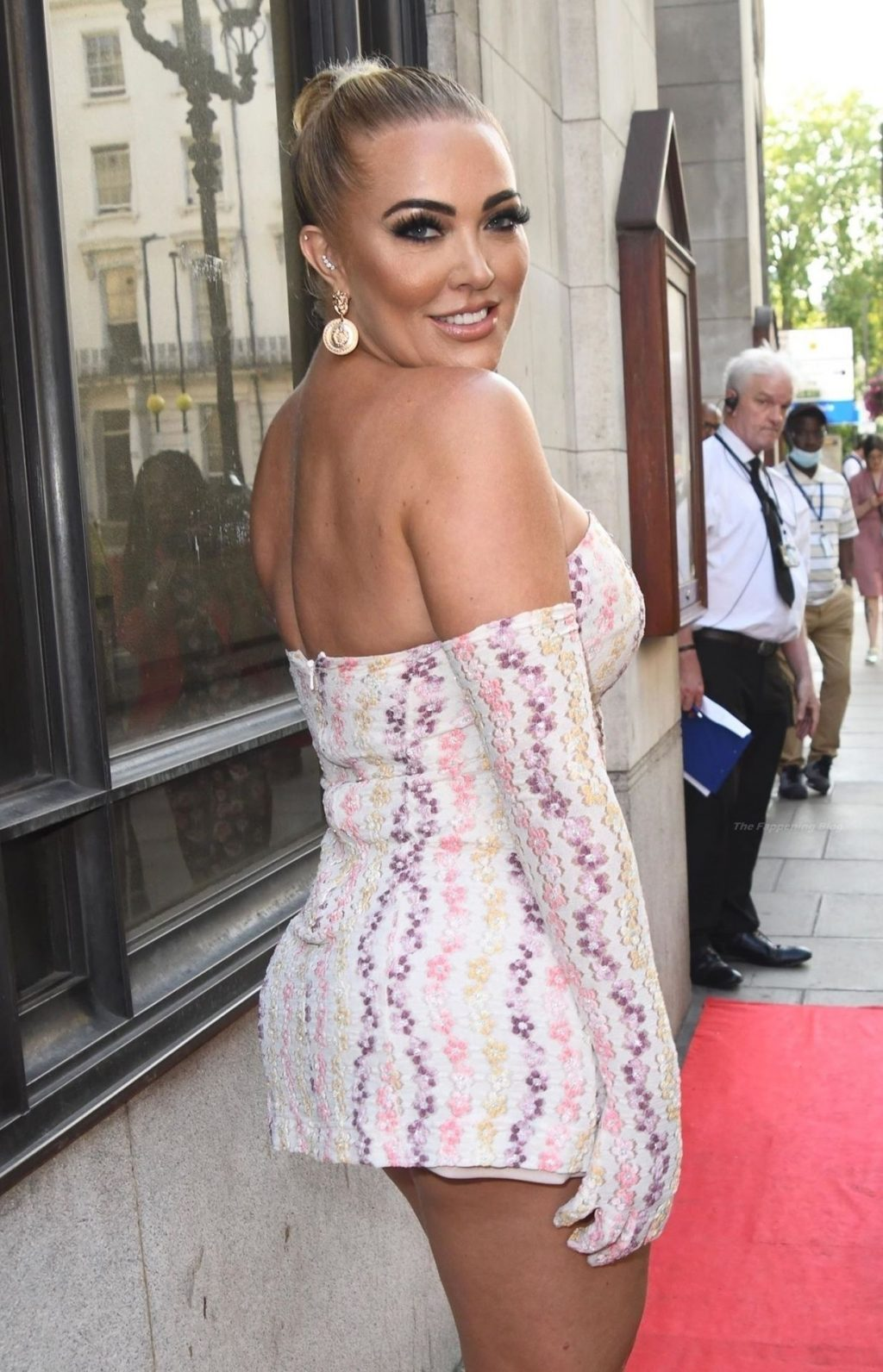 Aisleyne Horgan-Wallace is Pictured at The National Reality Awards in London (15 Photos)