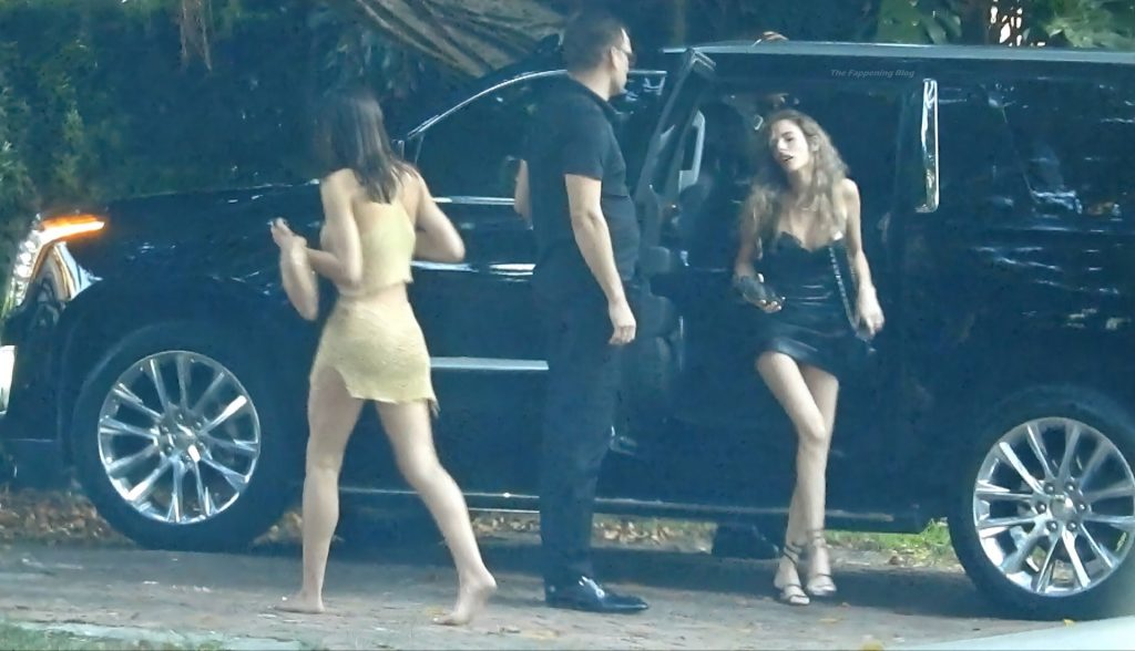 Amelia Hamlin Flashes Her Butt as She and Scott Disick Return to Their Hotel (32 Photos)