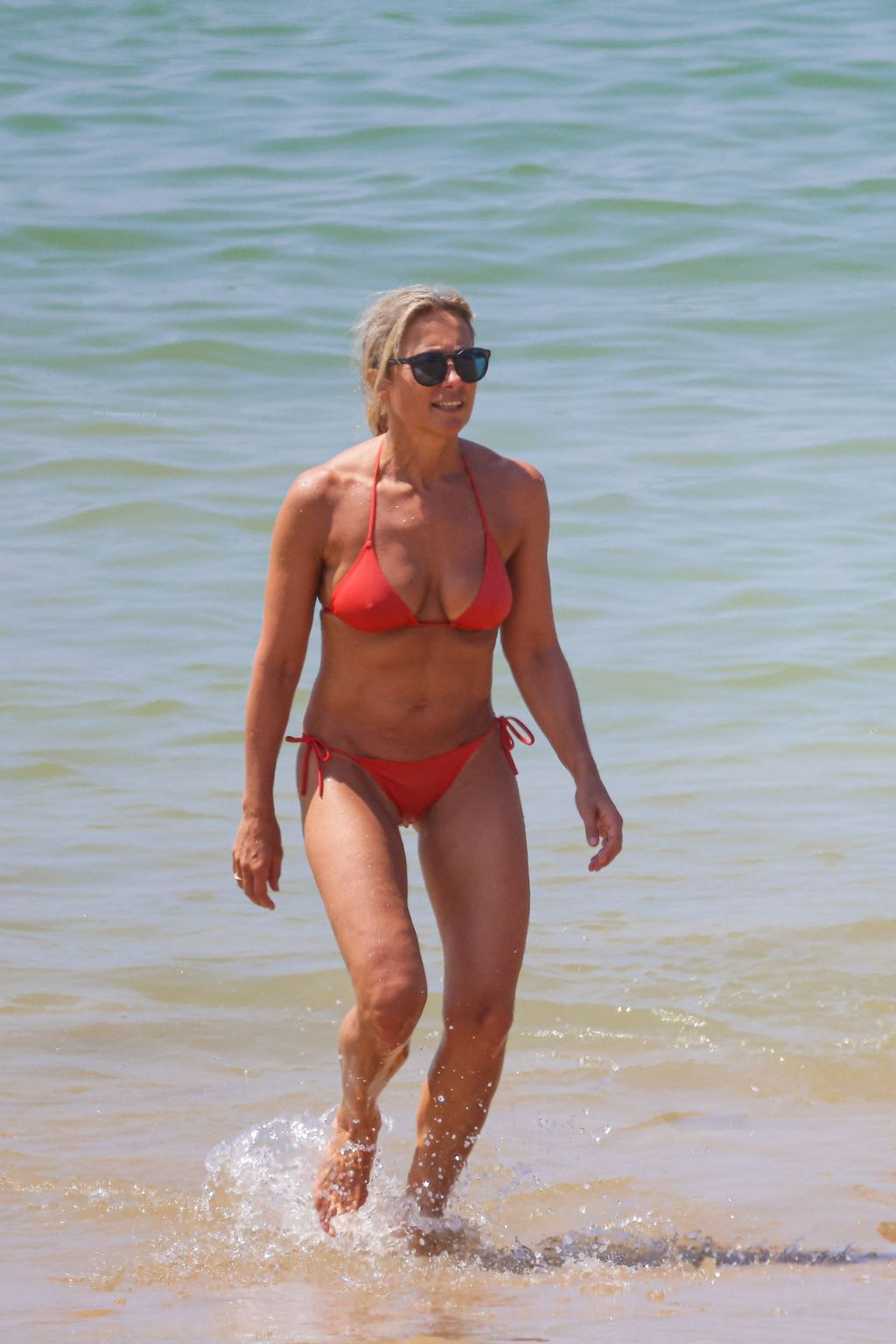 Anne-Sophie Lapix Shows Off Her Tits and Ass at The Beach in Saint-Jean-de-uz (59 Photos)