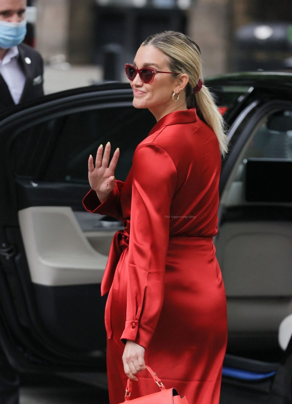 Ashley Roberts is Seen Departing After Her Heart FM Show (30 Photos)