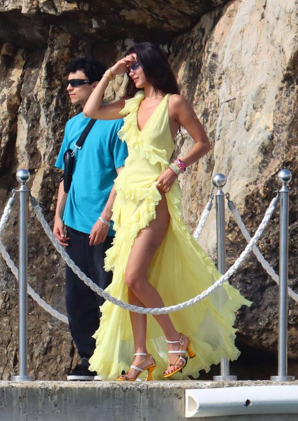 Bella Hadid is Seen With Her New Beau Marc Kalman at the Eden Roc Hotel (45 Photos)