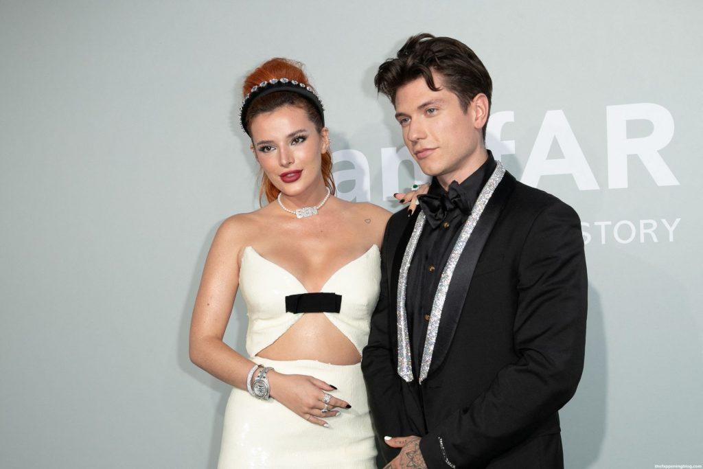 Bella Thorne Looks Beautiful at the 27th amfAR Gala in Cannes (33 Photos)