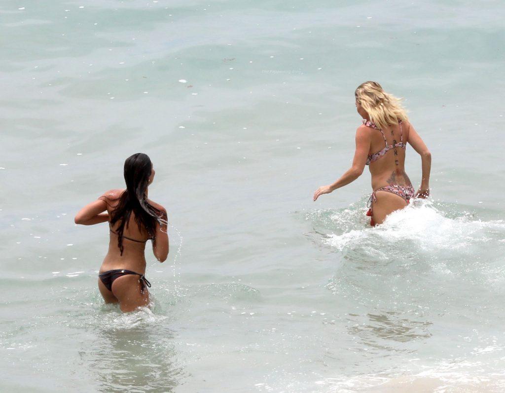 Braunwyn Windham-Burke & Fernanda Rocha Have a PDA-Filled Beach Date in Laguna Beach (94 Photos)