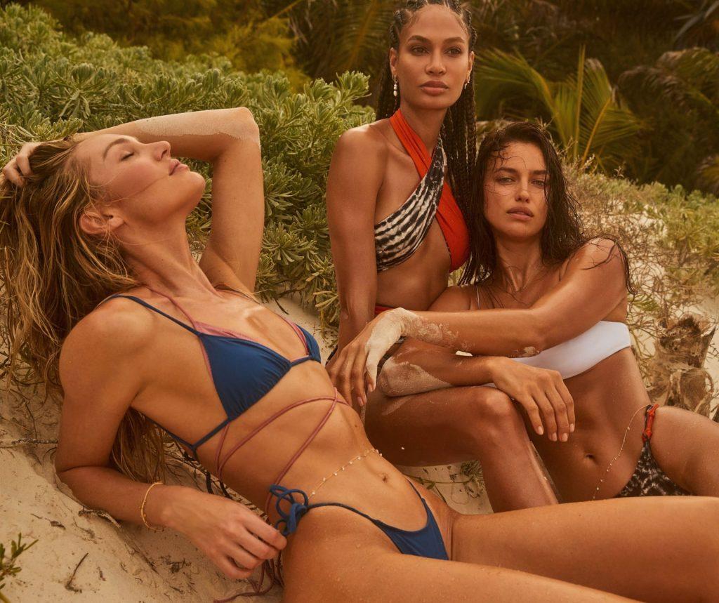 Irina Shayk, Joan Smalls & Candice Swanepoel Promote a New Tropic of C x Revolve Collection (18 Photos)