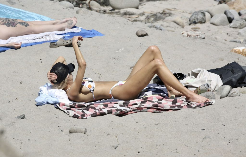 Charlotte McKinney Shows Off Her Bikini Body on A Trip To The Beach in LA (14 Photos)
