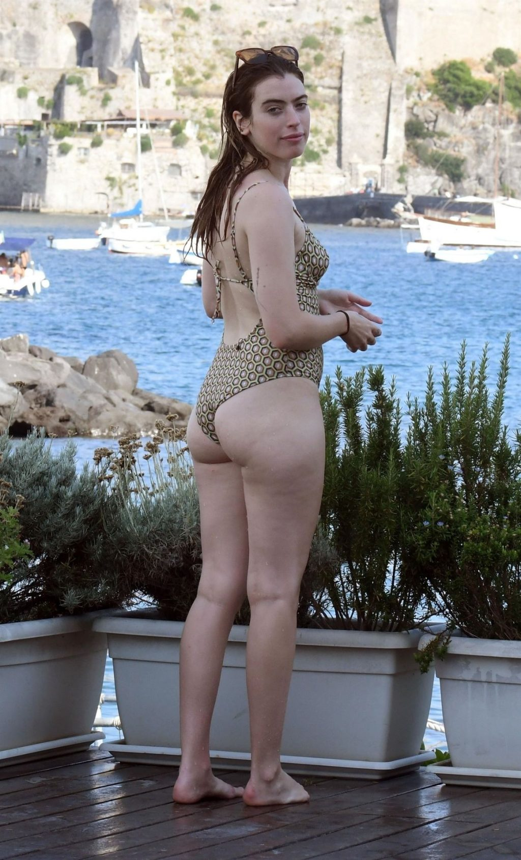 Clara McGregor Shows Off Her Sensational Figure in a Swimsuit Out in Ischia (59 Photos)