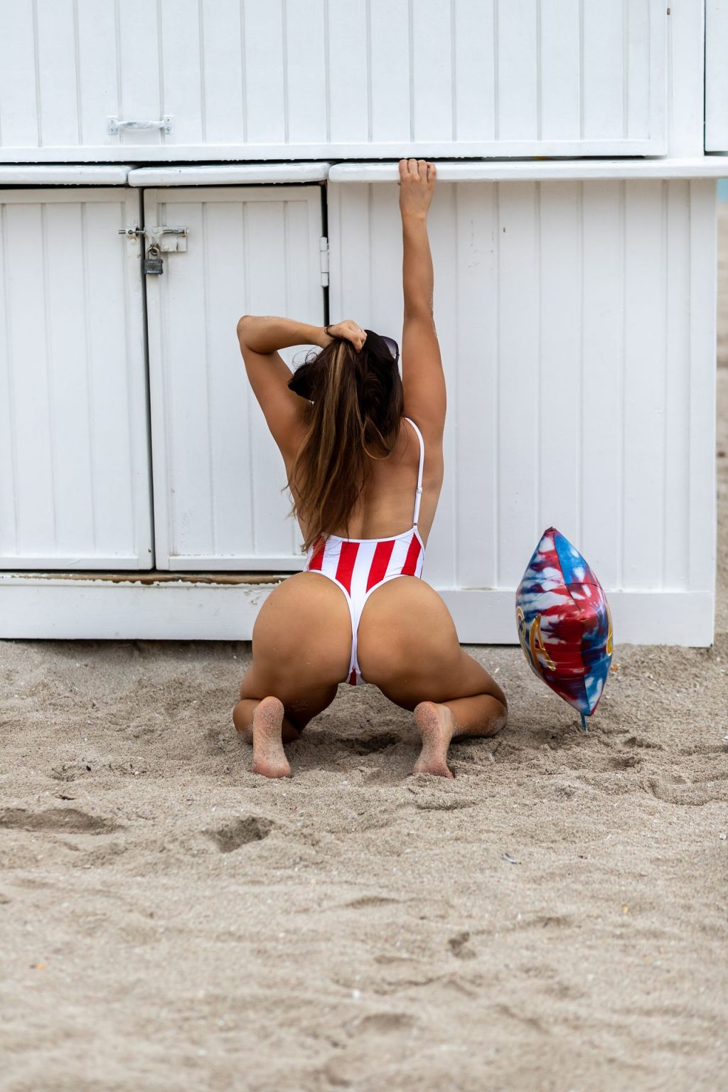 Claudia Romani Celebrates 4th of July the Only Way She Knows How (13 Photos)
