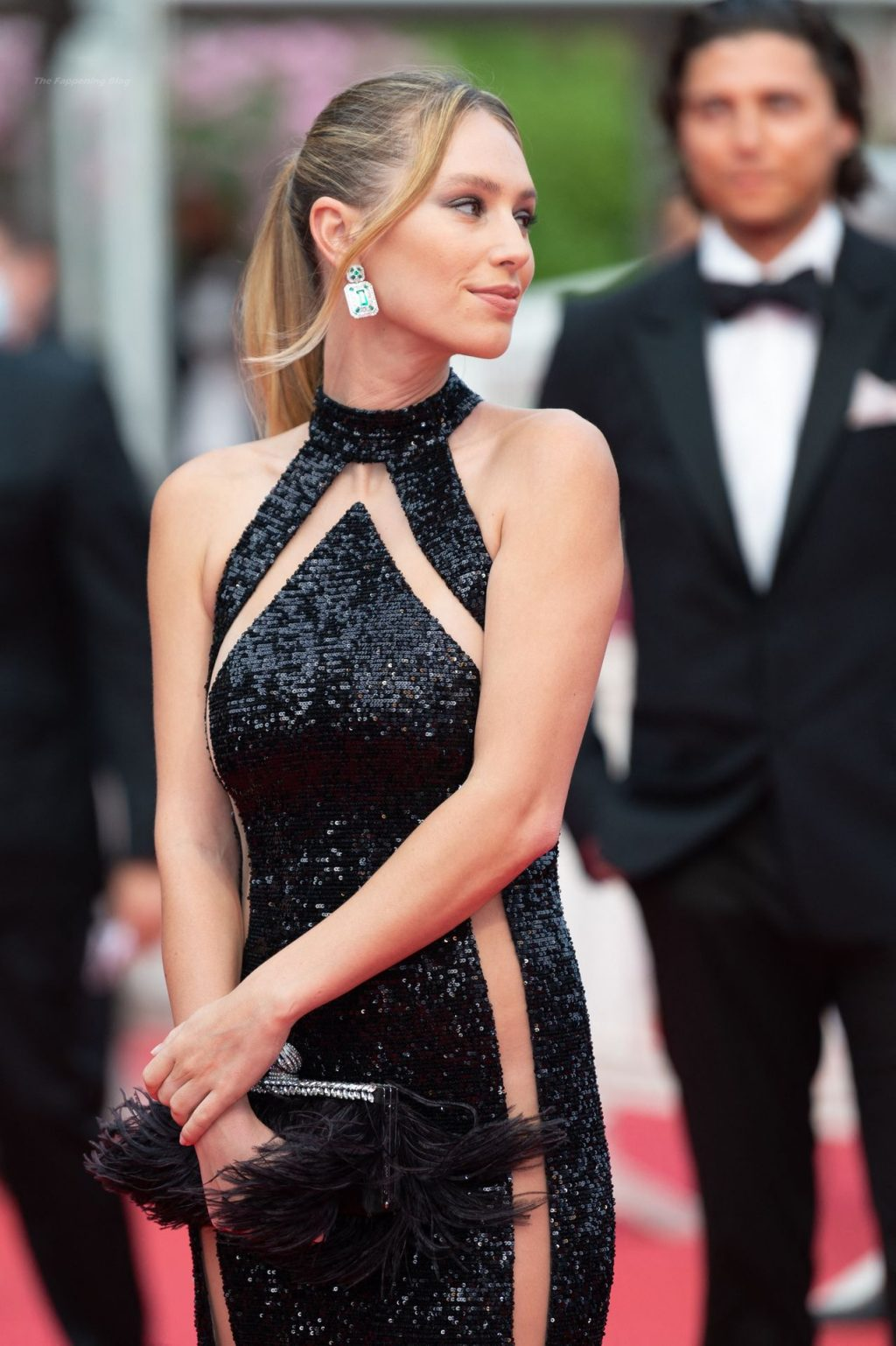 Dylan Penn Stuns on the Red Carpet at the 74th Annual Cannes Film Festival (104 Photos)