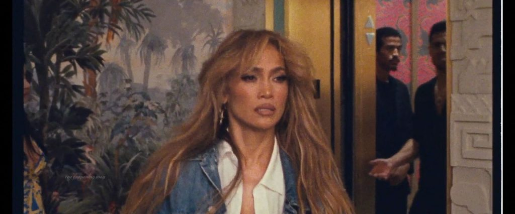 Jennifer Lopez & Rauw Alejandro's Behind the Scenes During the Making of 'Cambia el Paso' (82 Pics + Videos)