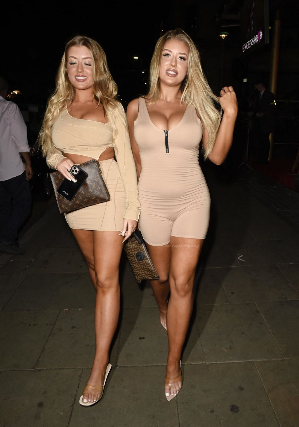 Busty Jess & Eve Gale are Seen at Impossible in Manchester (18 Photos)