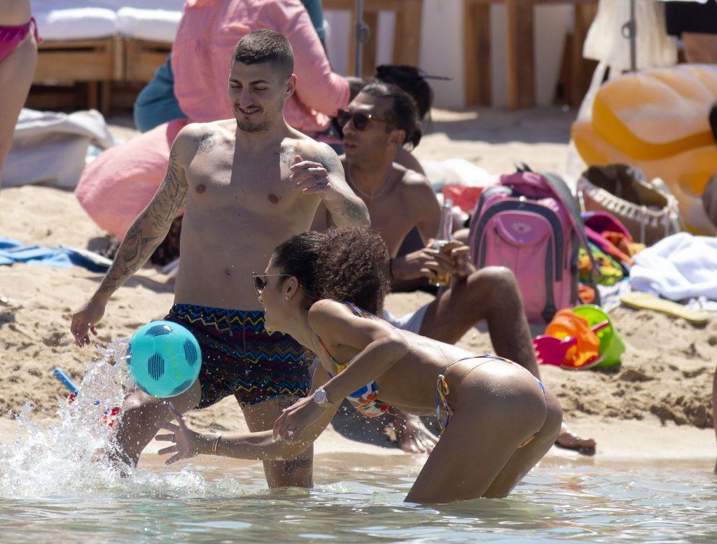 Jessica Aidi & Marco Verratti Enjoy Their Honeymoon in Ibiza (50 Photos)