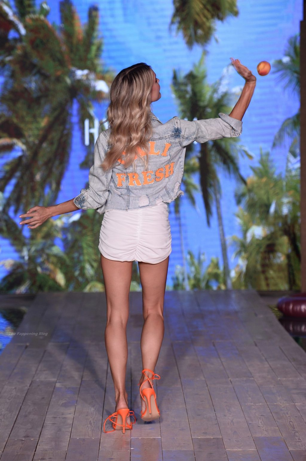 Joy Corrigan Flaunts Her Nude Tits on the Runway for Hypeach During 2021 Miami Swim Week (8 Photos)