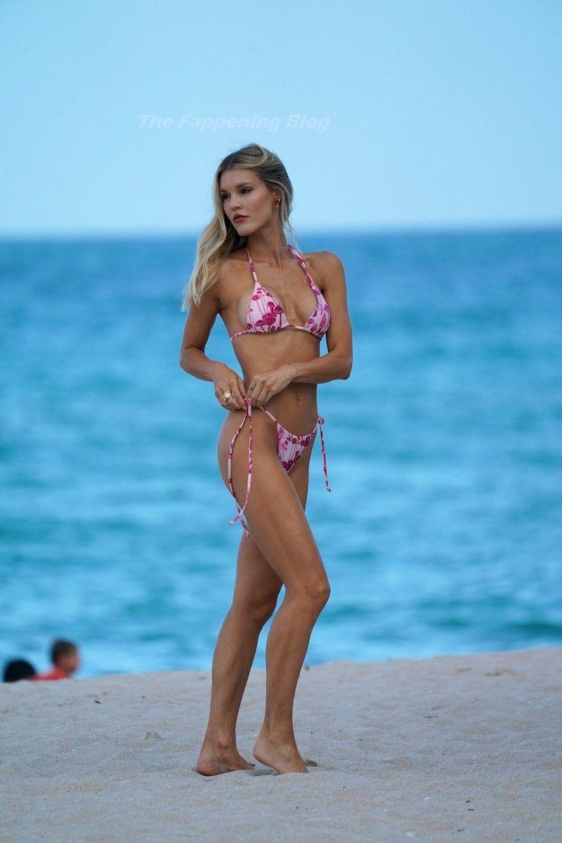 Joy Corrigan on Beach Bikini 1