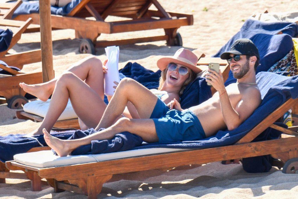 Julianne Hough Stuns in a Blue Bikini with a Small Nip Slip (72 Photos)