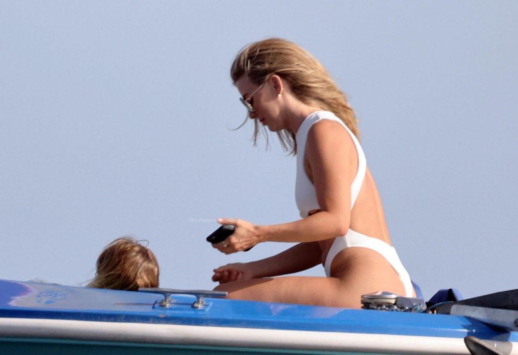 Julianne Hough Shows Off Her Toned Body in a White Bikini (28 Photos)