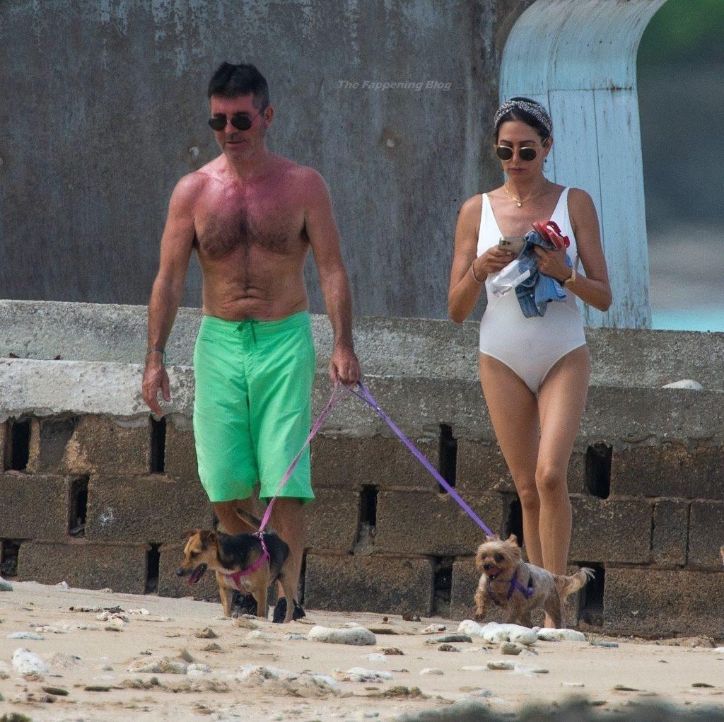 Lauren Silverman & Simon Cowell Enjoy Their Summer Getaway in Barbados (6 Photos)