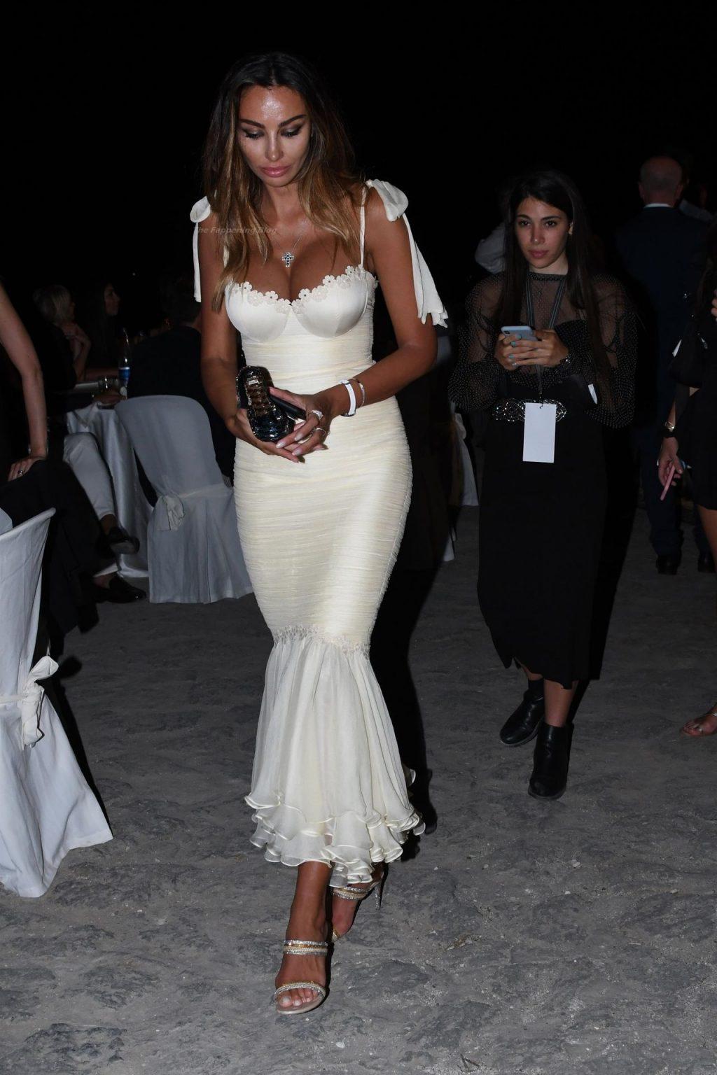 Madalina Ghenea Flaunts Nice Cleavage at The Ischia Global Festival (Photos + Video)